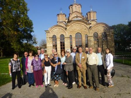 Visite d'étude de 2014 au Kosovo
