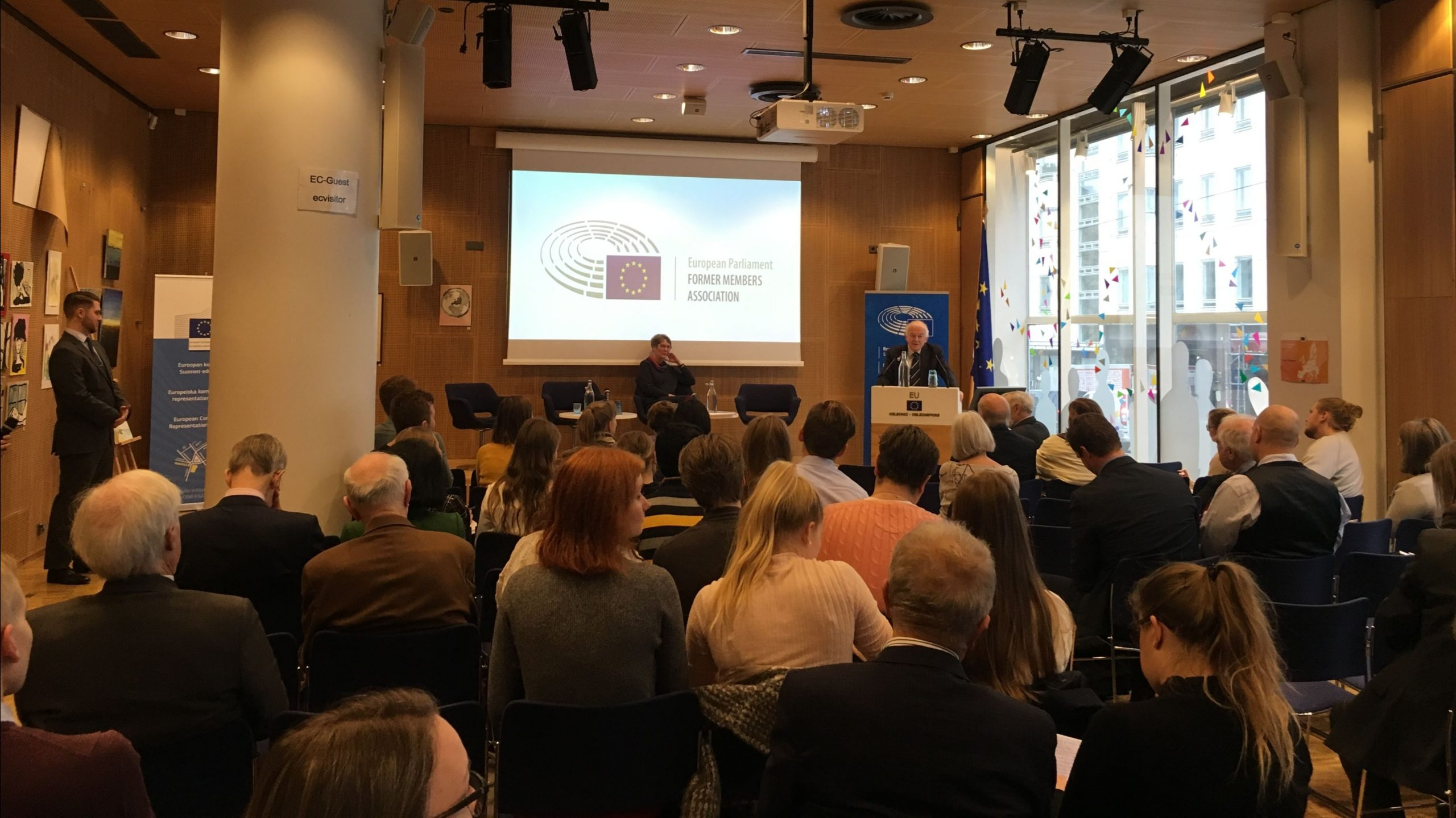 "Debate with students entitled ""Future of Europe: next steps?"" at the EP Liaison Office in Helsinki"