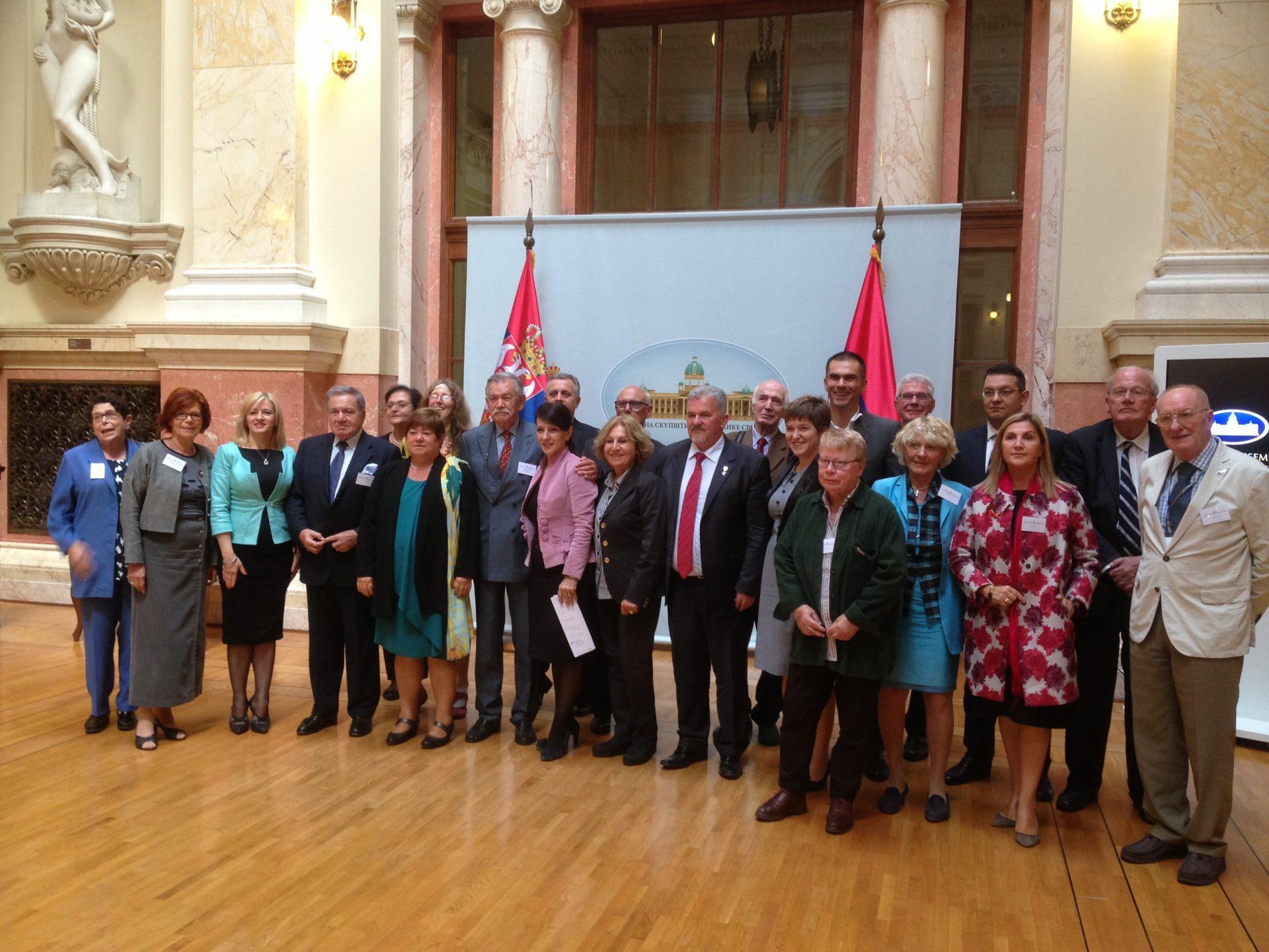 Visite d'étude de 2016 en Serbie