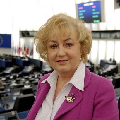 Genowefa GRABOWSKA MEP in Plenary Session in Strasbourg.