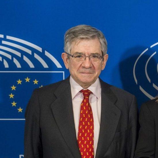 Antonio TAJANI - EP President meets with Enrique BARON-CRESPO and Monica BALDI