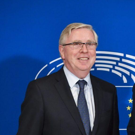Antonio TAJANI - EP President meets with Pat COX - former President of the EP