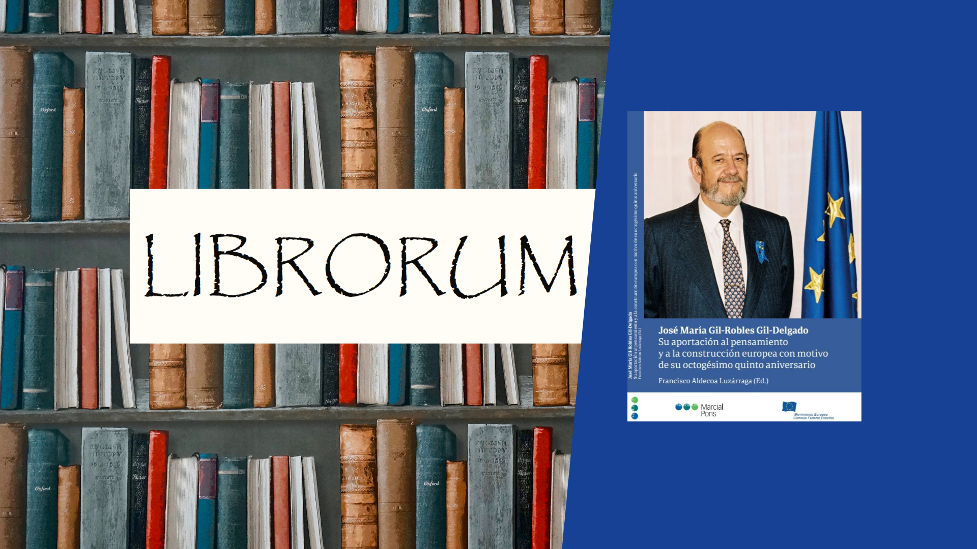 'Liber amicorum' par José María Gil-Robles